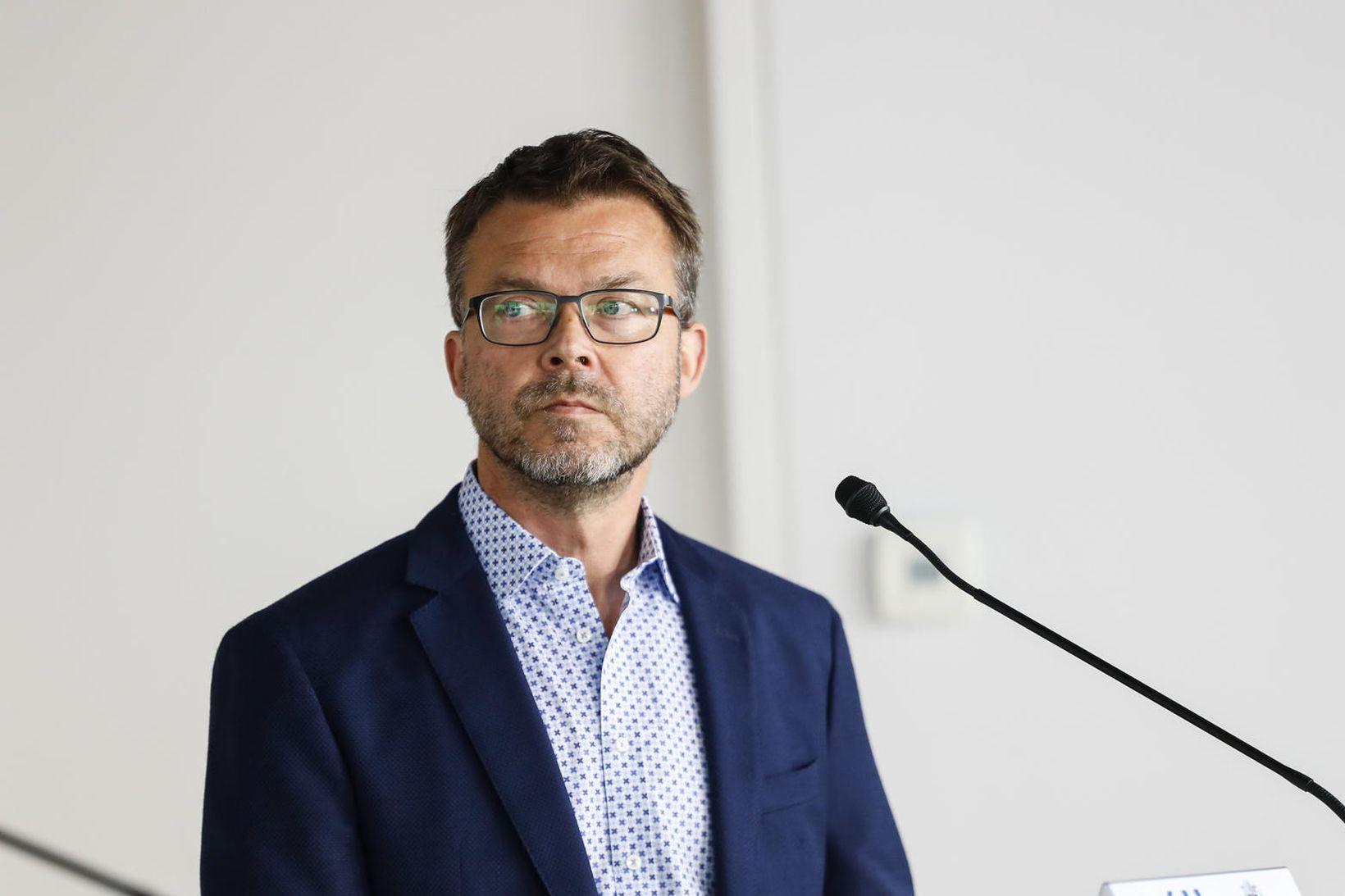 Páll Þórhallsson verkefnastjóri í forsætisráðuneytinu.