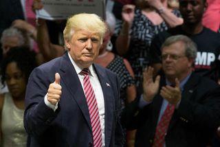 Hin mörgu andlit Donalds Trump eru sögð birtast í nýrri bók blaðamanna Washington Post um ...