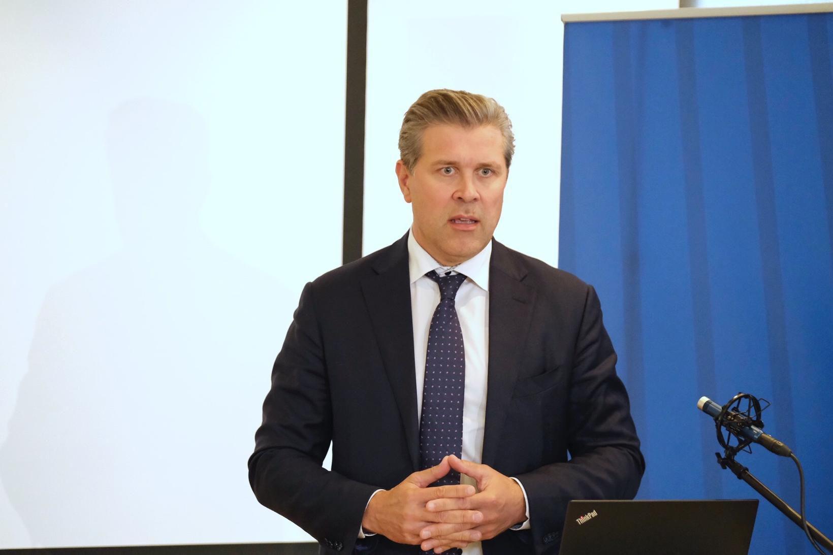 Bjarni Benediktsson fjármálaráðherra verður á meðal gesta.