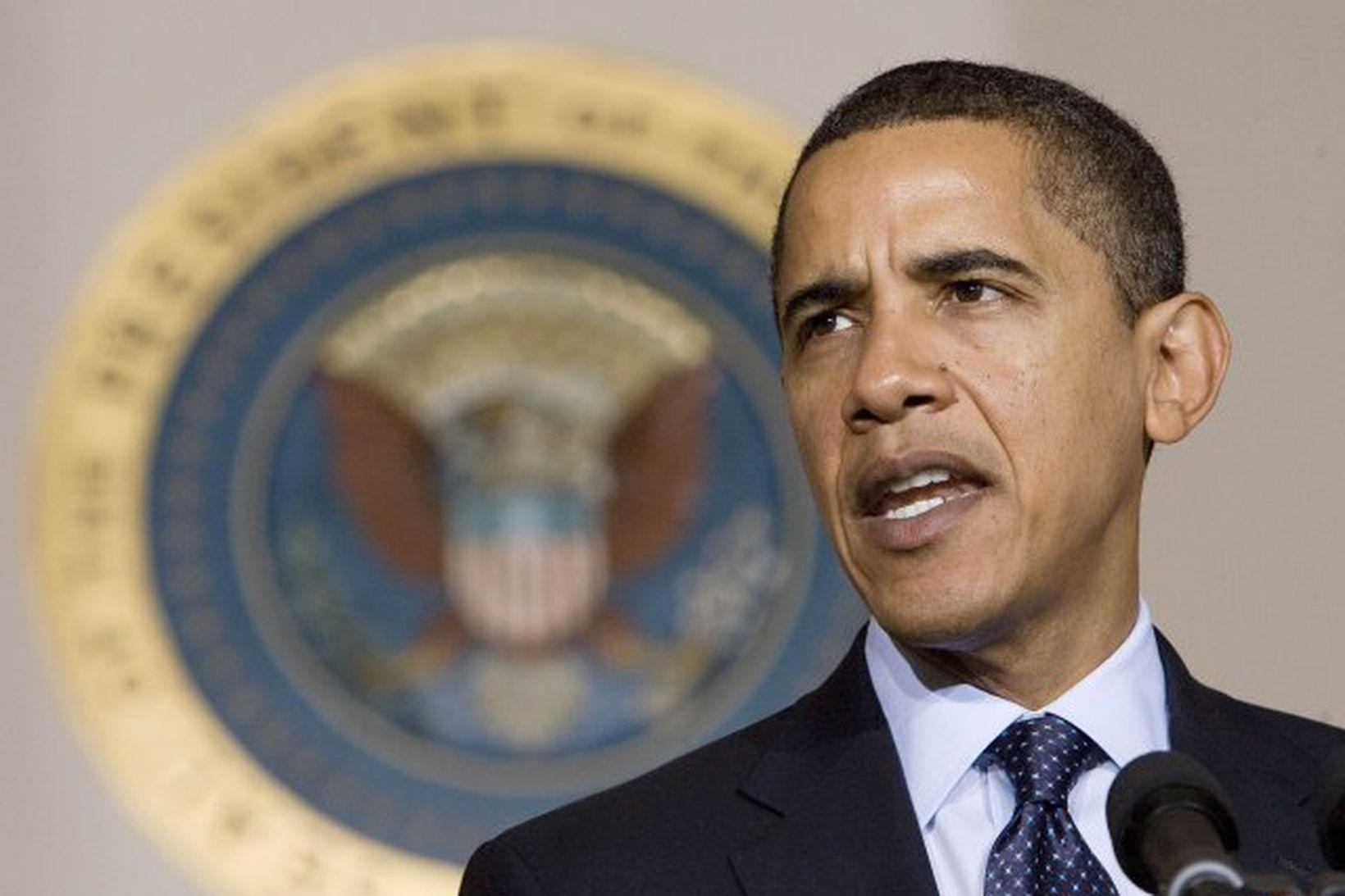 Obama forseti virðist víða vekja athygli, einnig í öðrum sólkerfum.