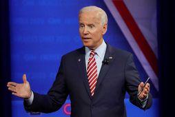 Joe Biden, fyrrverandi varaforseti Bandaríkjanna og núverandi forsetaefni demókrata.