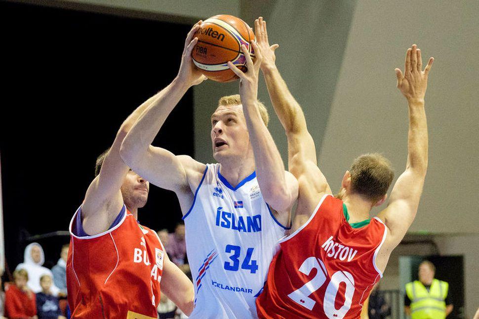 Tryggvi Snær Hlinason tekur þátt í NBA-nýliðavalinu.