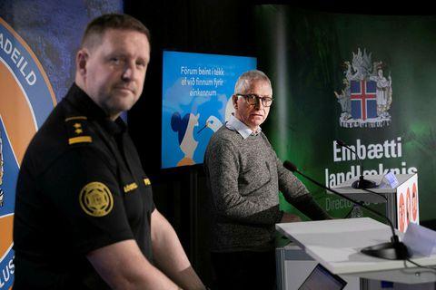 Rögnvaldur Ólafsson og Þórólfur Guðnason.