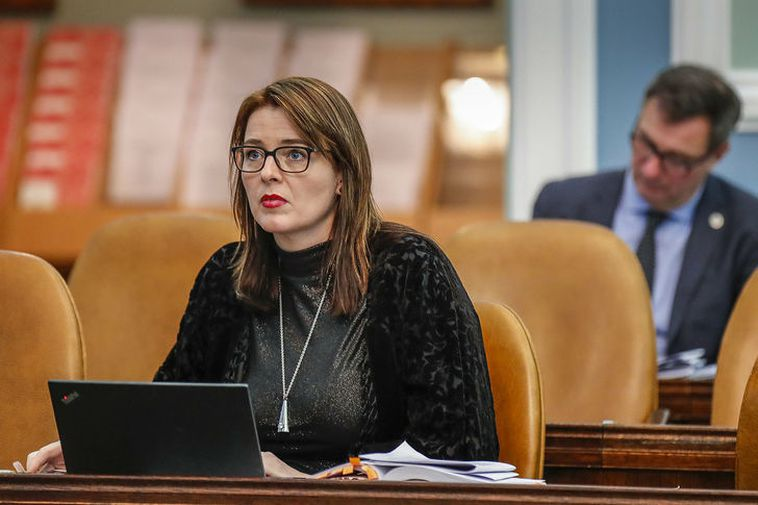 Silja Dögg Gunnarsdóttir, MP for the Progressive Party