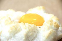 Egg á skýi er það krúttlegasta sem þú munt sjá á matarvefnum í dag.