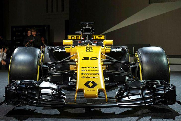 Frá frumsýningu Renault.