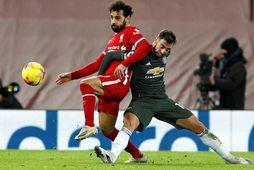Mohamed Salah og Bruno Fernandes gætu leikið á HM með Egyptalandi og Portúgal.