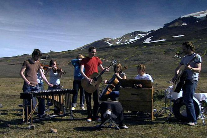 """Catch the famous """"Heima"""" documentary on   a tour that Sigur Rós made of Iceland in 2006."""