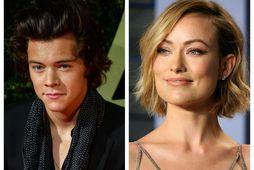 Harry Styles og Olivia Wilde.