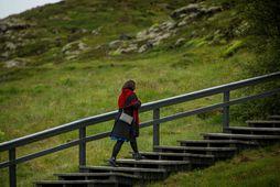 Helga Vala gekk af hátíðarfundinum á Þingvöllum þegar Pia Kjærsgaard steig í pontu.