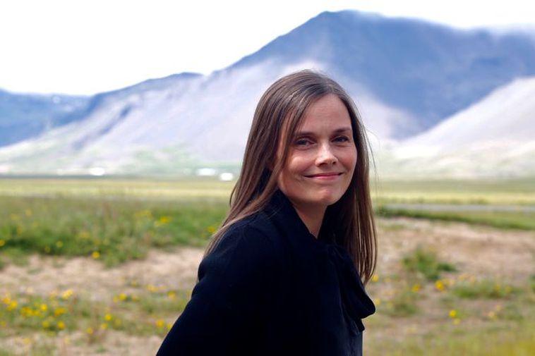 Prime Minister Katrín Jakobsdóttir.