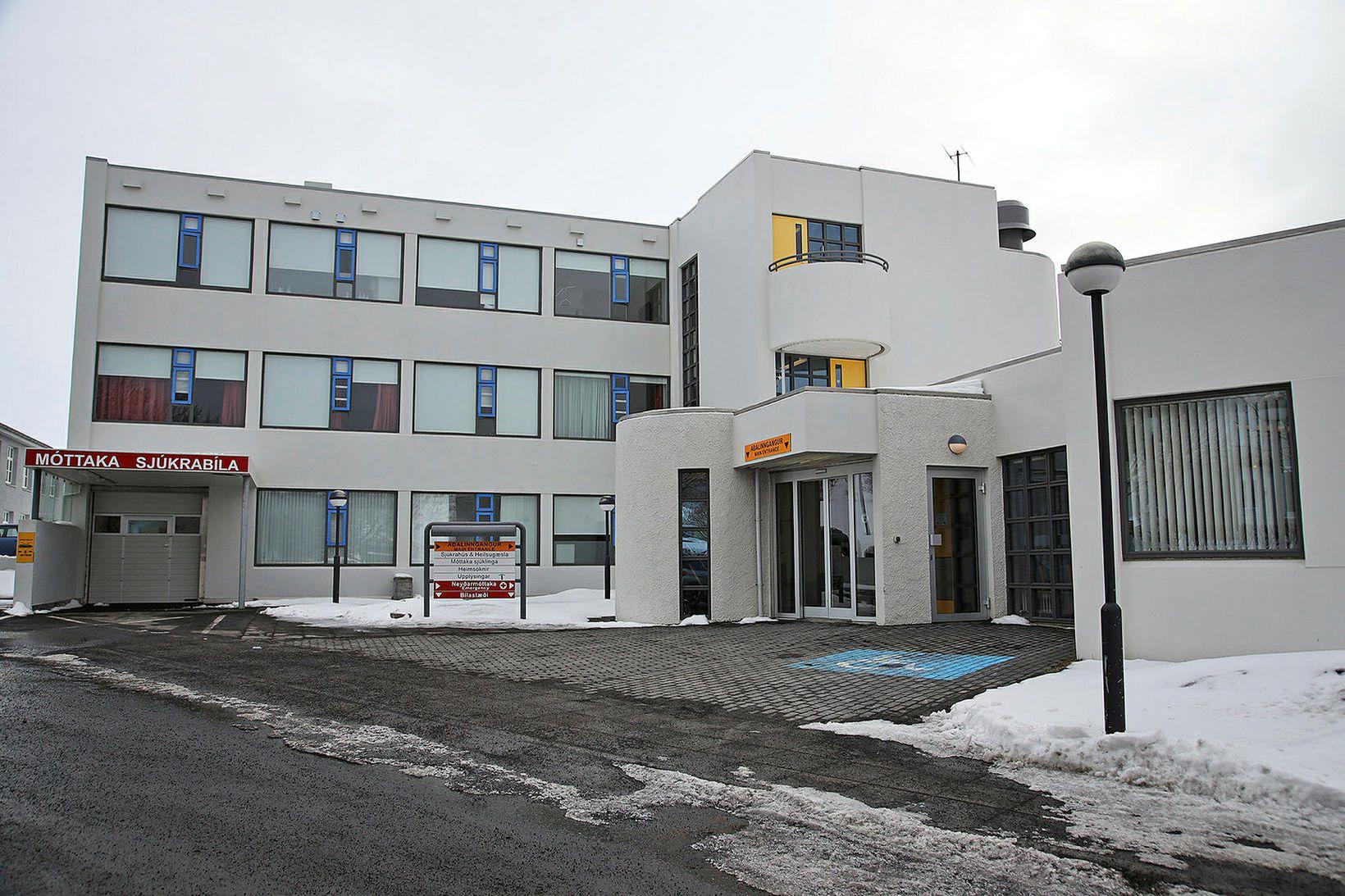 Heilbrigðisstofnun Norðurlands á Húsavík.