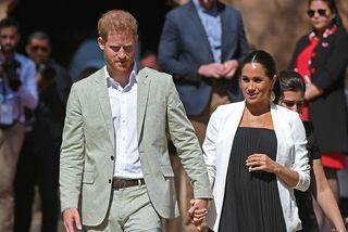 Harry og Meghan eiga von á sínu fyrsta barni.