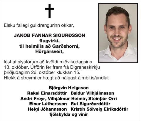 Jakob Fannar Sigurðsson