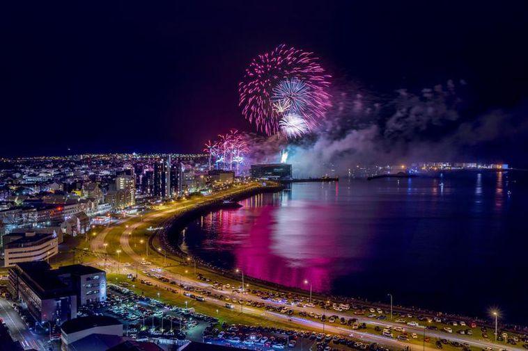 Culture Night culminates in a majestic firework display.