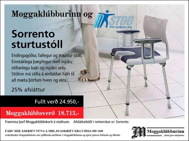 Stoð   Sorrento sturtustóll