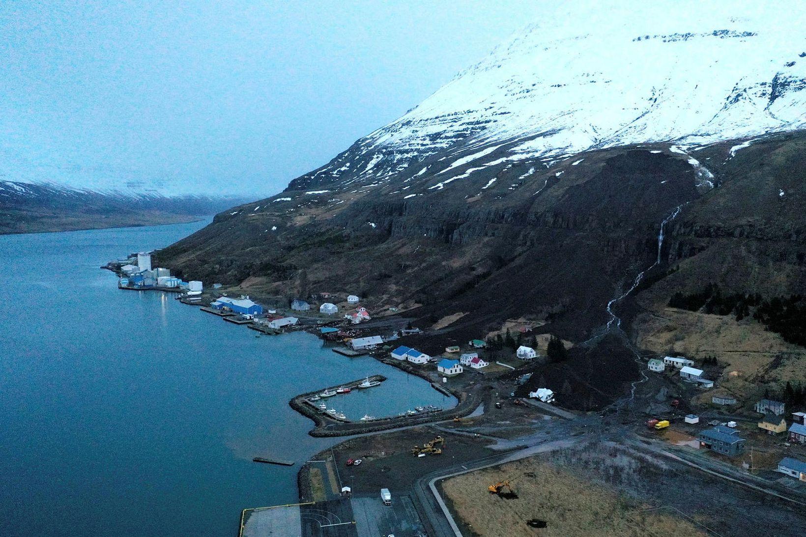 Jákvæðni er gagnvart þeirri hugmynd að rannsaka skriðuföll á Seyðisfirði.