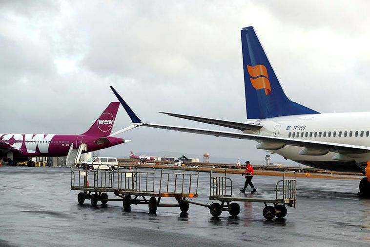 Passengers who were booked with WOW air can buy fares for special rates from Icelandair ...