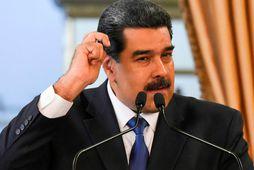 Nicolas Maduro, forseti Venesúela.