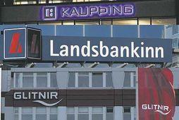Kaupþing, Landsbankinn og Glitnir