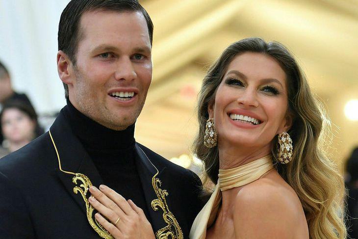 Tom Brady og Gisele Bündchen borða hollt.