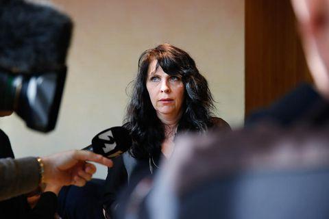 Birgitta Jónsdóttir, unofficial leader of the Pirate Party in Iceland.