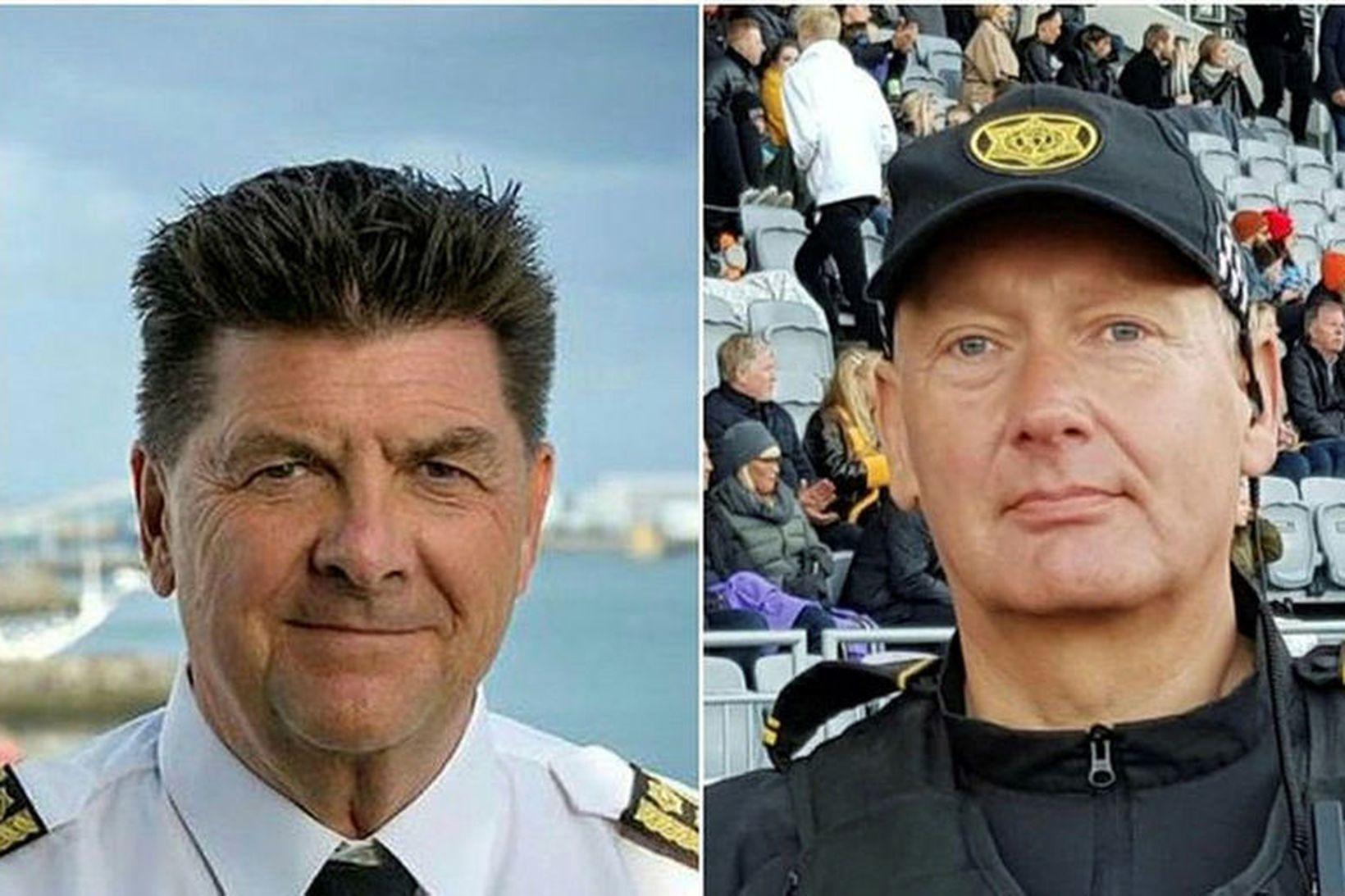 Haraldur Johannessen og Arinbjörn Snorrason.