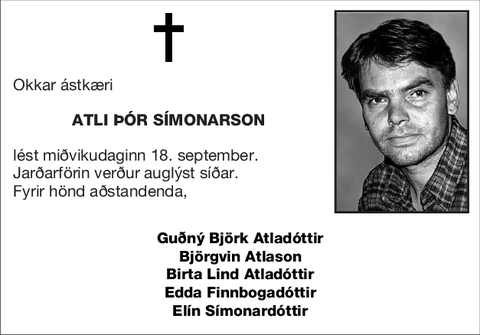 Atli Þór Símonarson