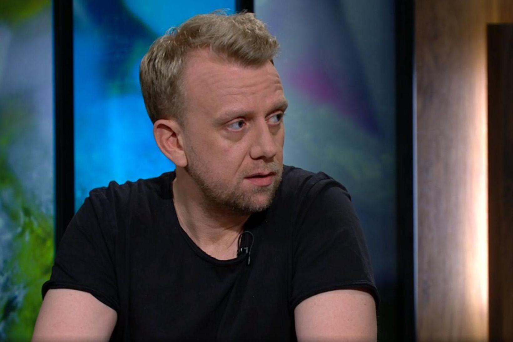 Helgi Seljan fréttamaður.