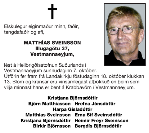 Matthías Sveinsson