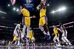 Los Angeles Lakers er í toppsæti Vesturdeildarinnar.