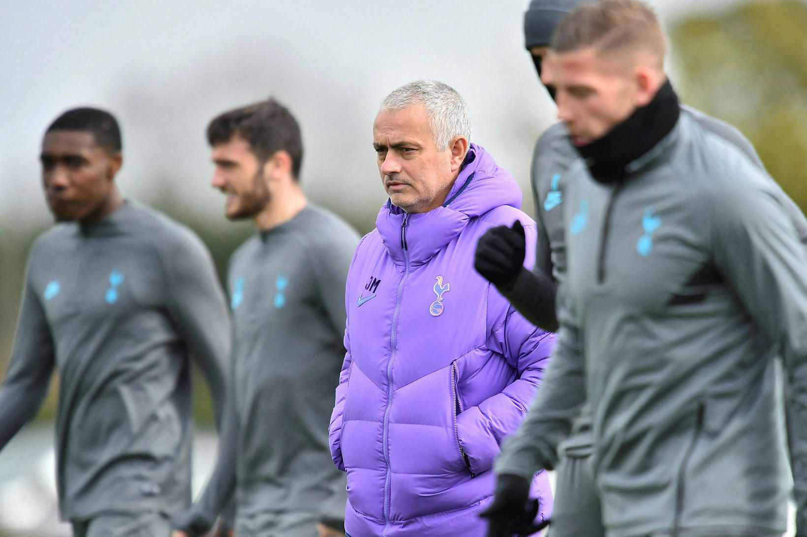 José Mourinho var rekinn í morgun.