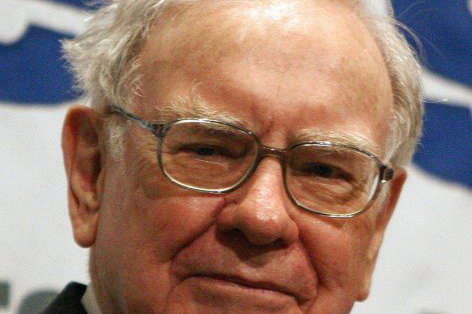 Warren Buffett veðjar á Goldman Sach