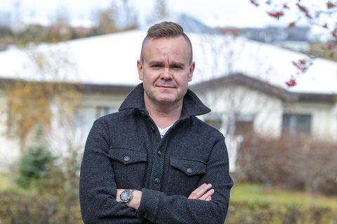 Pétur Jóhann Sigfússon.
