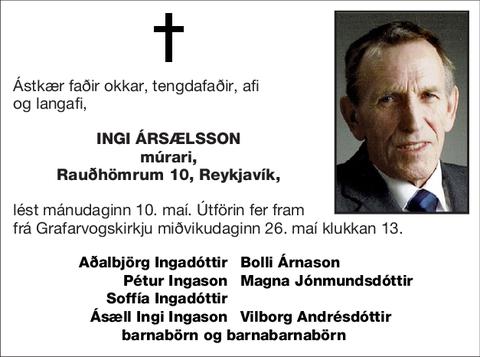 Ingi Ársælsson