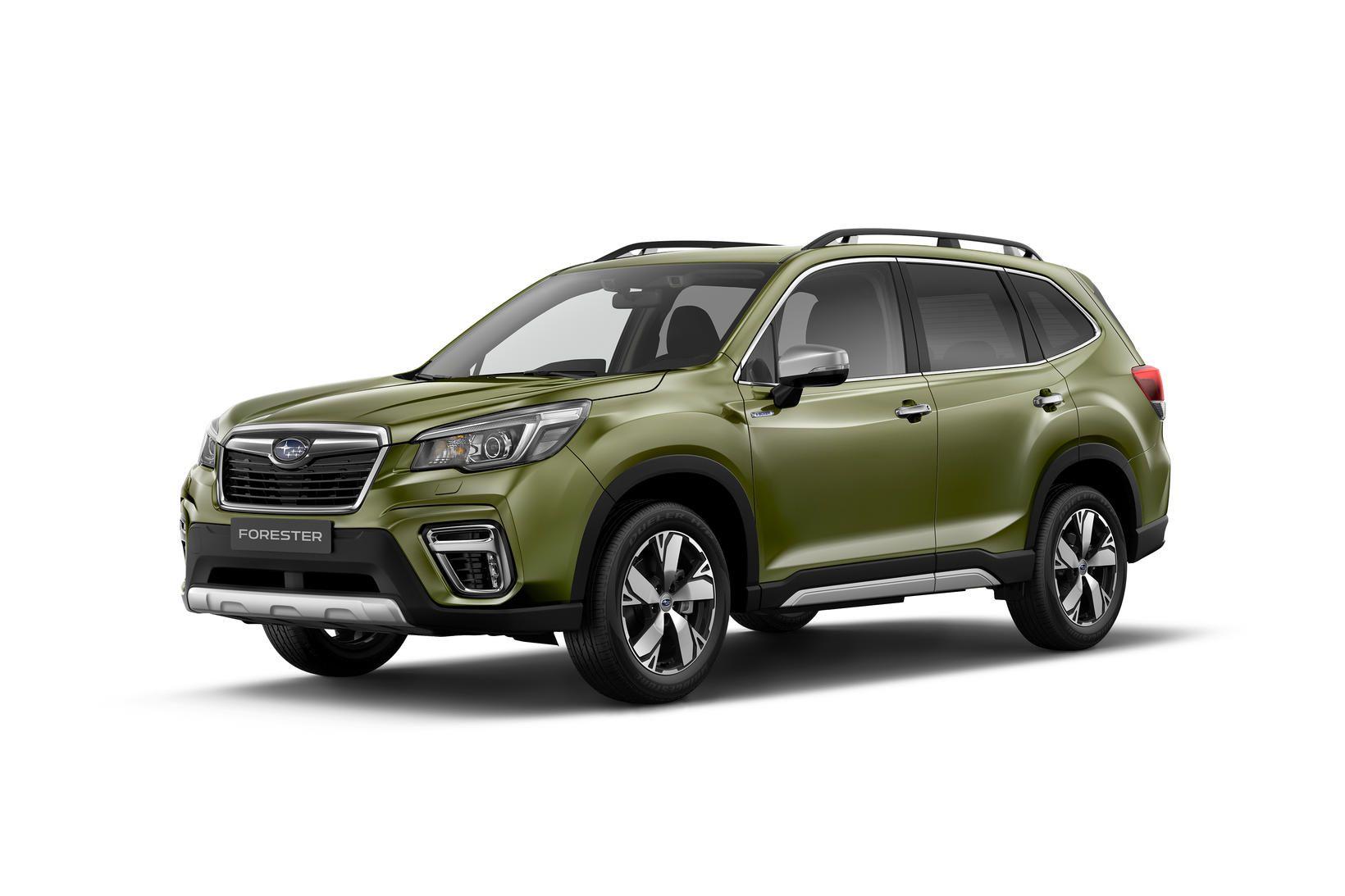 Subaru Forester e-Boxer Hybrid verður frumsýndur hjá BL á morgun..