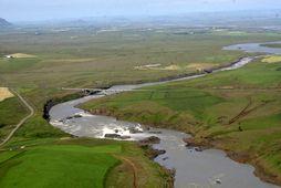 Urriðafossvirkjun er meðal þeirra virkjana sem eru í nýtingarflokki.