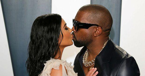 Kim Kardashian West og Kanye West eyddu Valentínusarhelginni í Cabo.