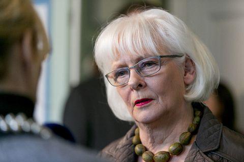 Former Icelandic PM, Jóhanna Sigurðardóttir.