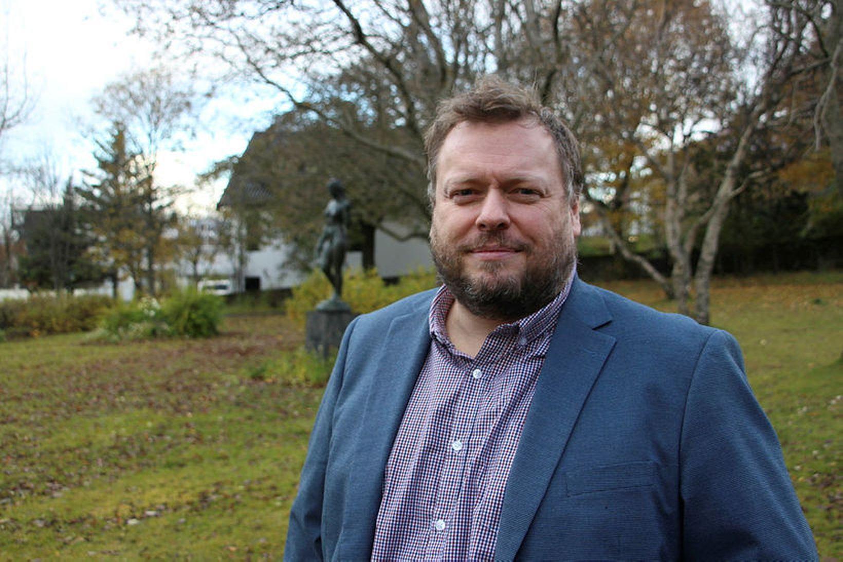 Ragnar Þór Pétursson formaður Kennarasambands Íslands.