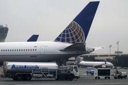 Hjónin fengu miða sína aftur hjá United Airlines.