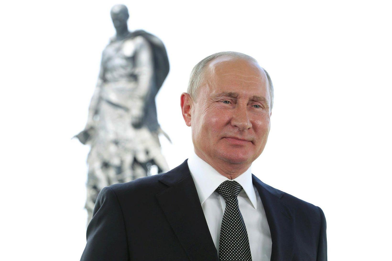 Vladimir Pútín, Rússlandsforseti.
