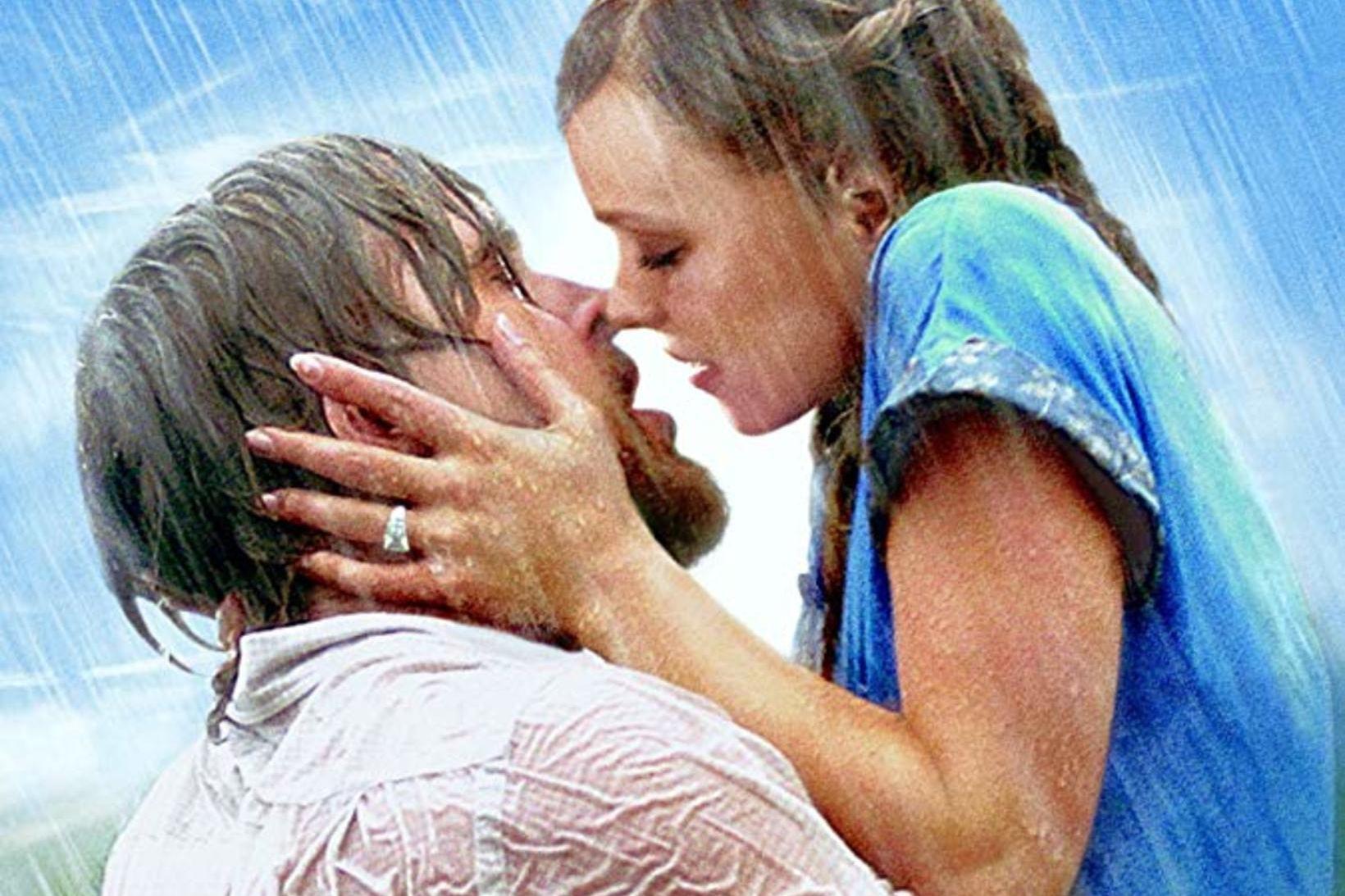 Rachel McAdams lék á móti Ryan Gosling í The Notebook. …