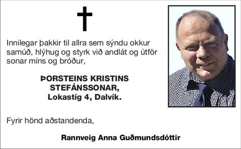 Þorsteins Kristins Stefánssonar,
