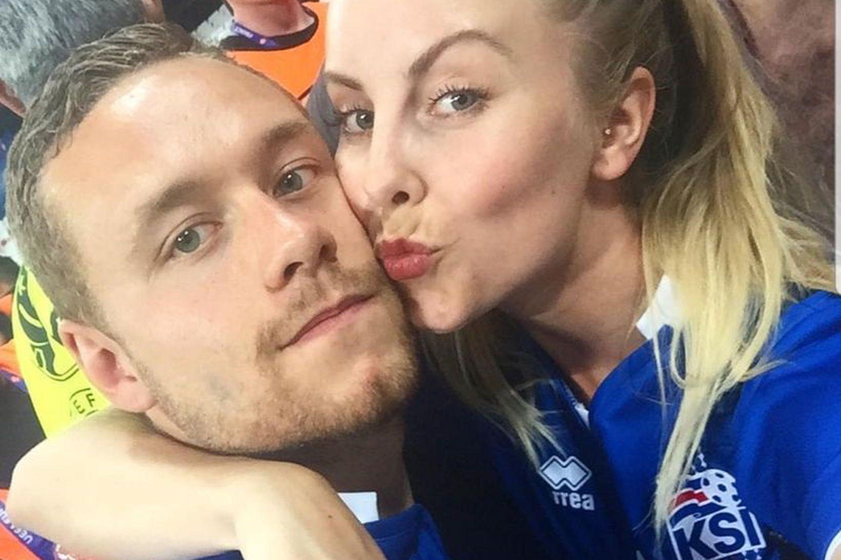 Sverrir Ingi Ingason og Hrefna Halldórsdóttir.