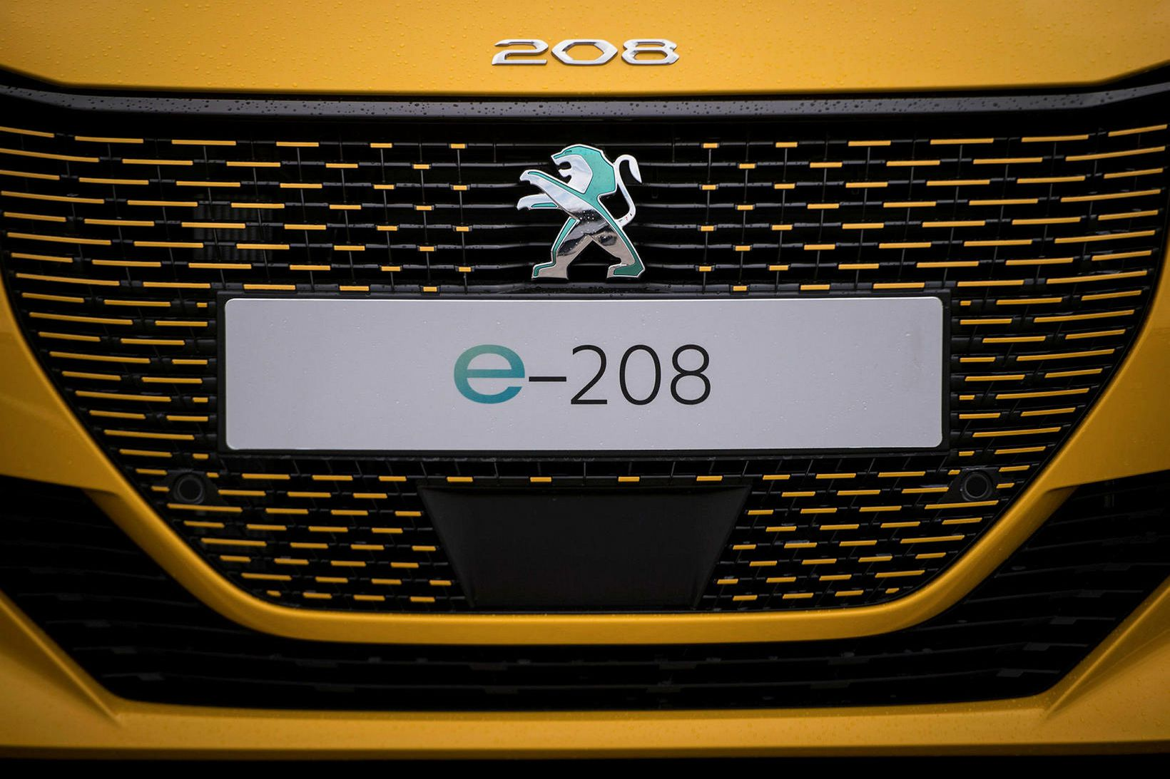Peugeot e-208 rafbíllinn er nýr í rafbílaflórunni.