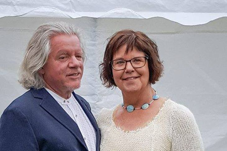 Kristinn R. Ólafsson og Anna Baldvina Jóhannsdóttir gengu í hjónaband ...