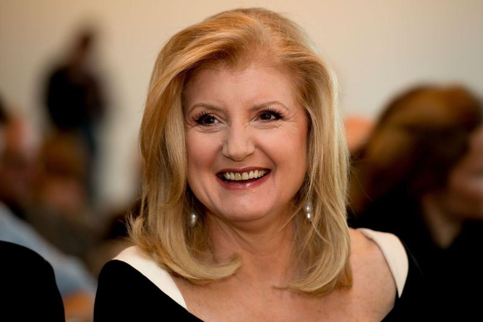 Arianna Huffington segir svefn ákaflega mikilvægan.