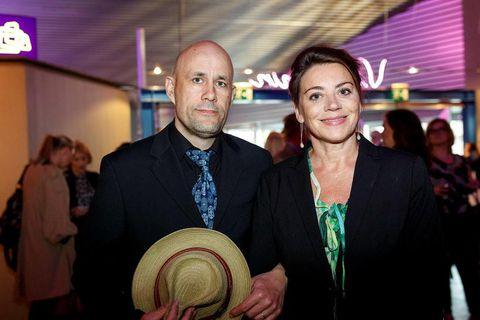 Benedikt Erlingsson og Charlotte Bøving.