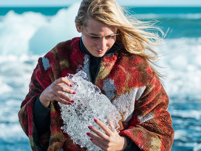 Nail varnish inspired by Iceland.